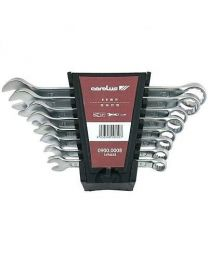 Carolus 8-19mm Combination Spanner Set 8 Piece