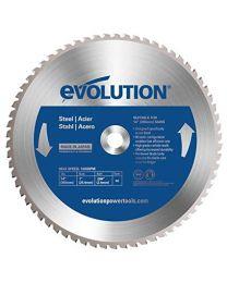 Evolution 355mm 66T TCT Steel Blade