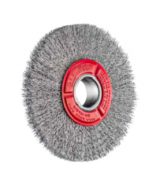 150mm crimped steel wire brush