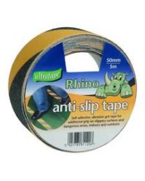 Anti-Slip Tape Black and Yellow 50mm  x 5M