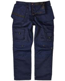 NAVY Apache Heavy Duty Work Trousers (Kneepad & Holster Pockets) - APKHT