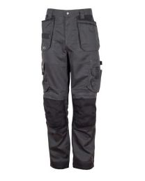 Apache ATS 3D Stretch Holster Work Trousers Grey