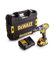 Dewalt DCD796P1 Brushless 2 Speed 18V Combi Drill With 1 X 5Ah Battery, Charger and Case