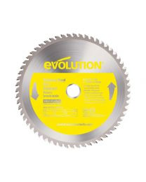 Evolution 230mm  60T TCT Stainless Steel Blade Super-Dry