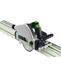 Festool TS 55 Plunge Cut Saw Kit including 2 x Guide rail and accessories 110V