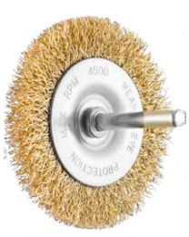 100mm spindle wire brush