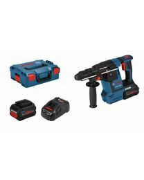 Bosch GBH 18V-26F SDS Rotary Hammer, 2 x 8Ah Batteries, Charger and Case *FreeBoschBatteryOffer*