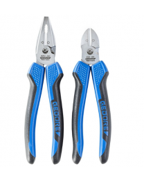 Gedore  2 Piece Pliers Set - Combination and Side Cutter