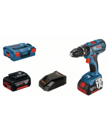 Bosch GSB 18V-28 Combi drill, 2 x 5.0Ah Batteries, charger and case *FreeBoschBatteryOffer*
