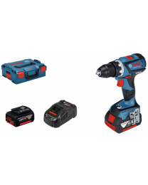 Bosch GSR 18v-60c Drill Driver, 2 x 5.0Ah Batteries, charger and case