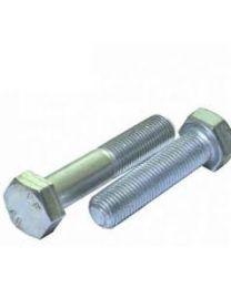M20 Metric High Tensile Hex Bolts and Setscrews GR8.8 BZP