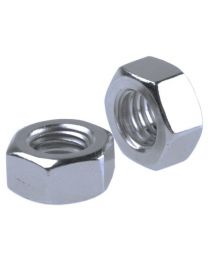 Metric Hex Full Nuts Grade 8.8 BZP