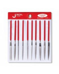 Jetech 10 Piece Needle File Set