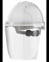 Safety Helmet with Face Visor