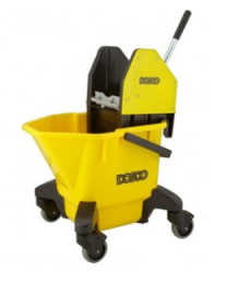 Kentucky Mop Bucket With Ringer On Castor 26 Liter Yellow