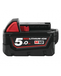 Milwaukee M18 Red Lithium  18 Volt 5AH Battery