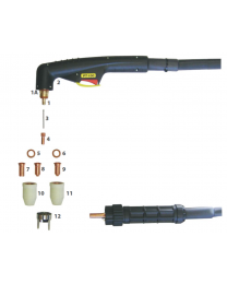 PT-100 Plasma Cutting Torch Main Consumables