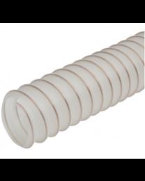 Medium Duty Polyurethane Clear Ducting 10 Meters