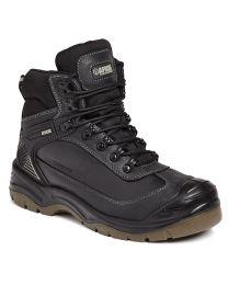 Apache Ranger Black Waterproof Safety All Terrain Boot S3WR