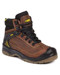 Apache Ranger Brown Waterproof Safety All Terrain Boot S3WR