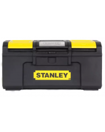 "Stanley 16"" One Touch Plastic Tool Box"