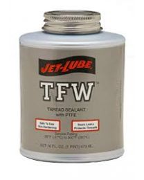 Jet-Lube TFW Multi-Purpose  Thread Sealant with PTFE Brush Top 500g