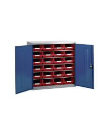 Barton Topstore Cabinet With 5 Shelves & 24 TC4 Bins