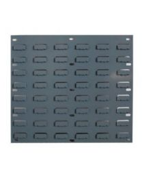 Barton Louvered Panel TP1 Grey 457mm x 438mm