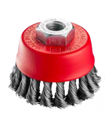 M14 x 75mm Knotted Wire Cup Brush
