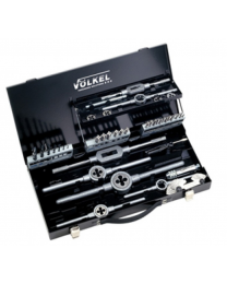 Voelkel 43 Piece Tap and Die Set M3 - M12