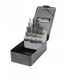 Voelkel 30 Piece Tap and Drill Set M3 - M12 HSS-G