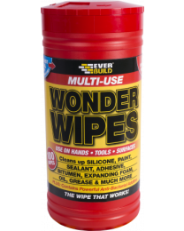 Everbuild Multi Use Wonder Wipes Tub 100 Wipes