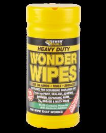 Everbuild Heavy Duty Wonder Wipes Tub 75 Wipes