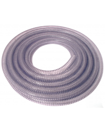 Heavy Duty Wire Reinforced Clear Suction Hose 10 Meter